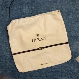 🍄vintage 90's Gucci bag shoe dust bag cloth